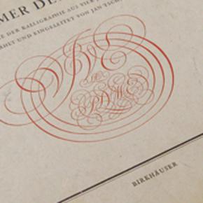 jan tschichold, typography, calligraphy