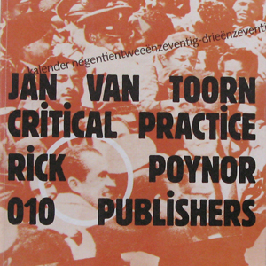 Jan van toorn, book, design, graphic design, typography, dutch design