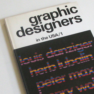 luis danziger, herb lubalin, peter max, henry wolf, american designer, typography, graphic design, design