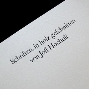 jost hochuli, typography, st.gallen, woodcut