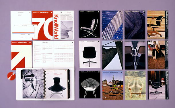Graphic design, typographer, RIT, logo, poster, furniture, product design, Knoll design, American Airlines design