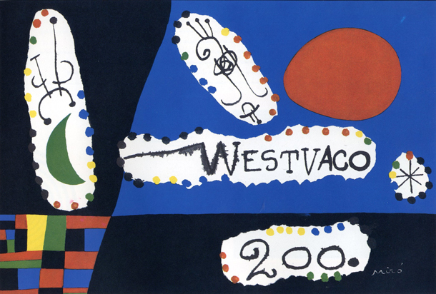 american designer, poster, layout, westvaco, typography, layout