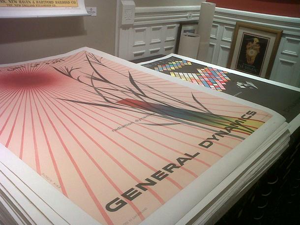 poster designer, Art director club, alliance graphique internationale, typography, General Dynamics