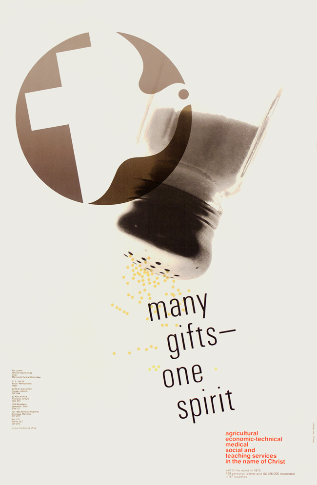 Many Gifts One Spirit, 1973