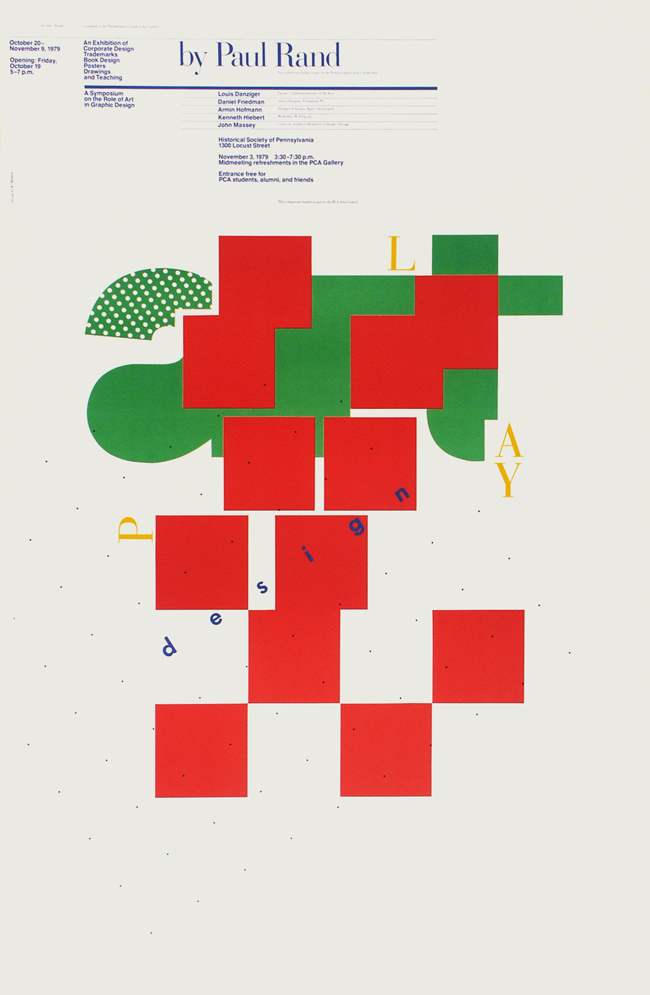 Art/Play/Design: Paul Rand Exhibition, 1979