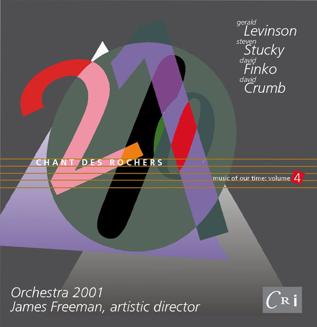 CD Cover, Orchestra 2001, 2000