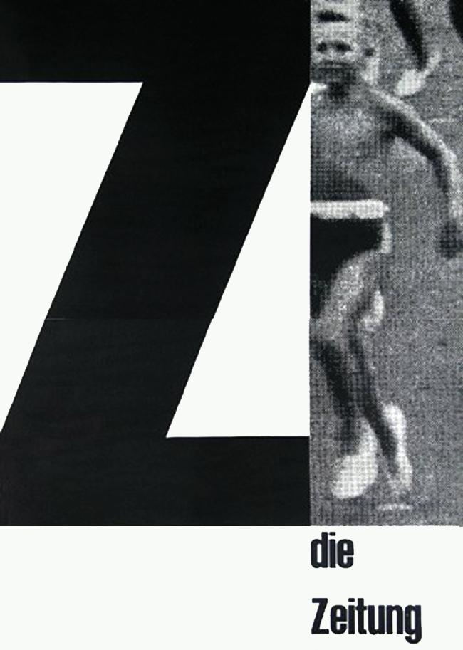 Die Zeitung catalogue / Size: 148 x 210 mm